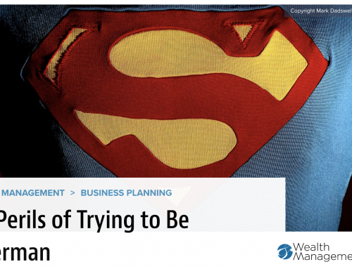 The Perils of Trying to Be Superman