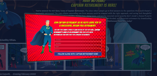captain retirement