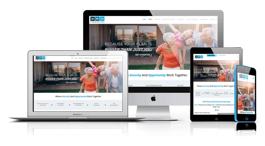 Lone Beacon Websites for Financial Advisors